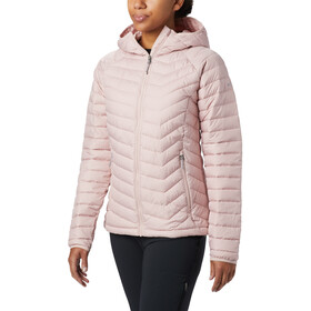 Columbia Powder Lite Kapuzenjacke Damen dusty pink